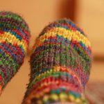 大満足の冷えとり靴下