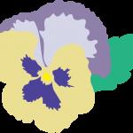 お花に囲まれて虎次朗