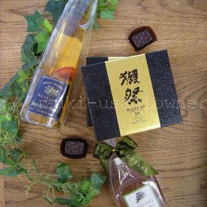 chocolate企画3/3:テレビで紹介された日本酒チョコと、カラフル可愛いインパクト!