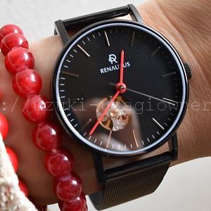 タイプ別各十数万通りの組み合わせ 自分だけのカスタムオーダー時計「RENAUTUS(ルノータス)」