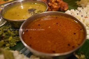 南インド料理のベジミール