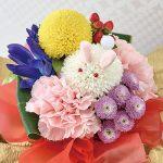 【2018敬老の日】うさぎなお花の贈り物~日比谷花壇