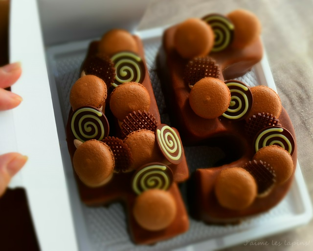 パーリーにもってこい!! 印象深さとワクワクMAXのナンバーケーキ!!
