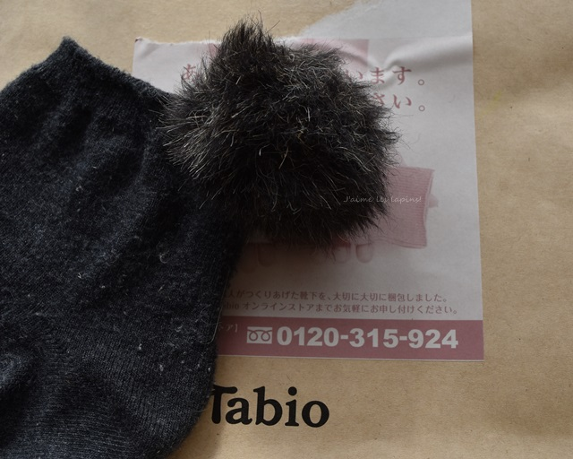 Tabioの靴下
