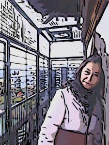 広島城にて