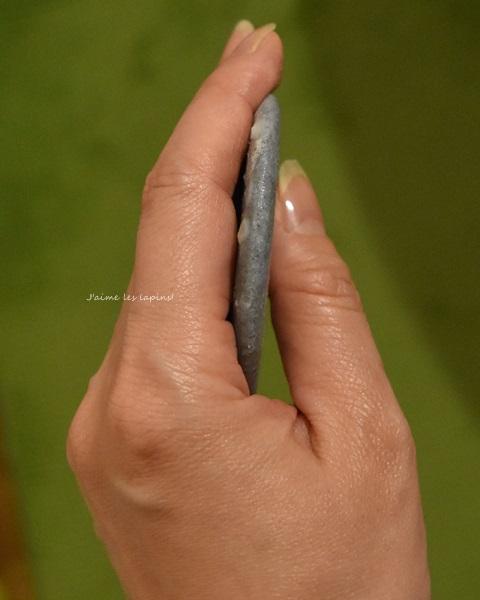 丸二ヶ月使用した竹塩石鹸横の画像