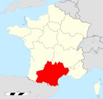 フランスオクシタニー地方