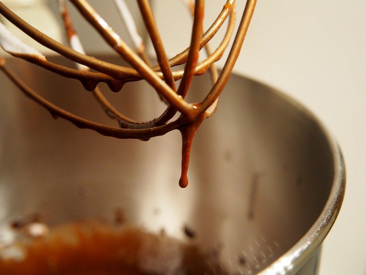チョコレートの撹拌