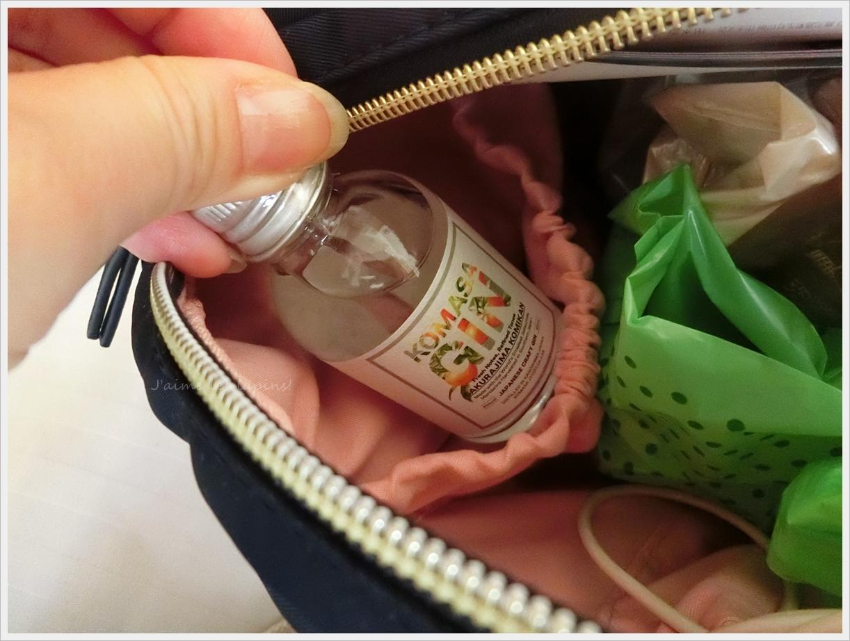 ことりっぷの軽い旅行バッグを使った