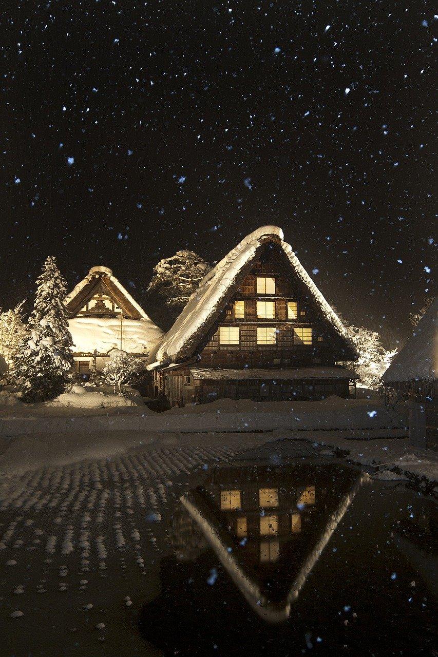 雪の季節の旅行