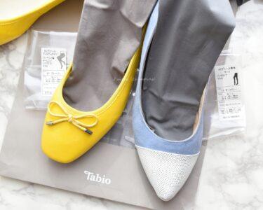 タビオのタイツと靴
