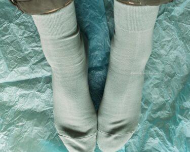 2021年春 靴下屋の新色綿ソックスを買ってみた