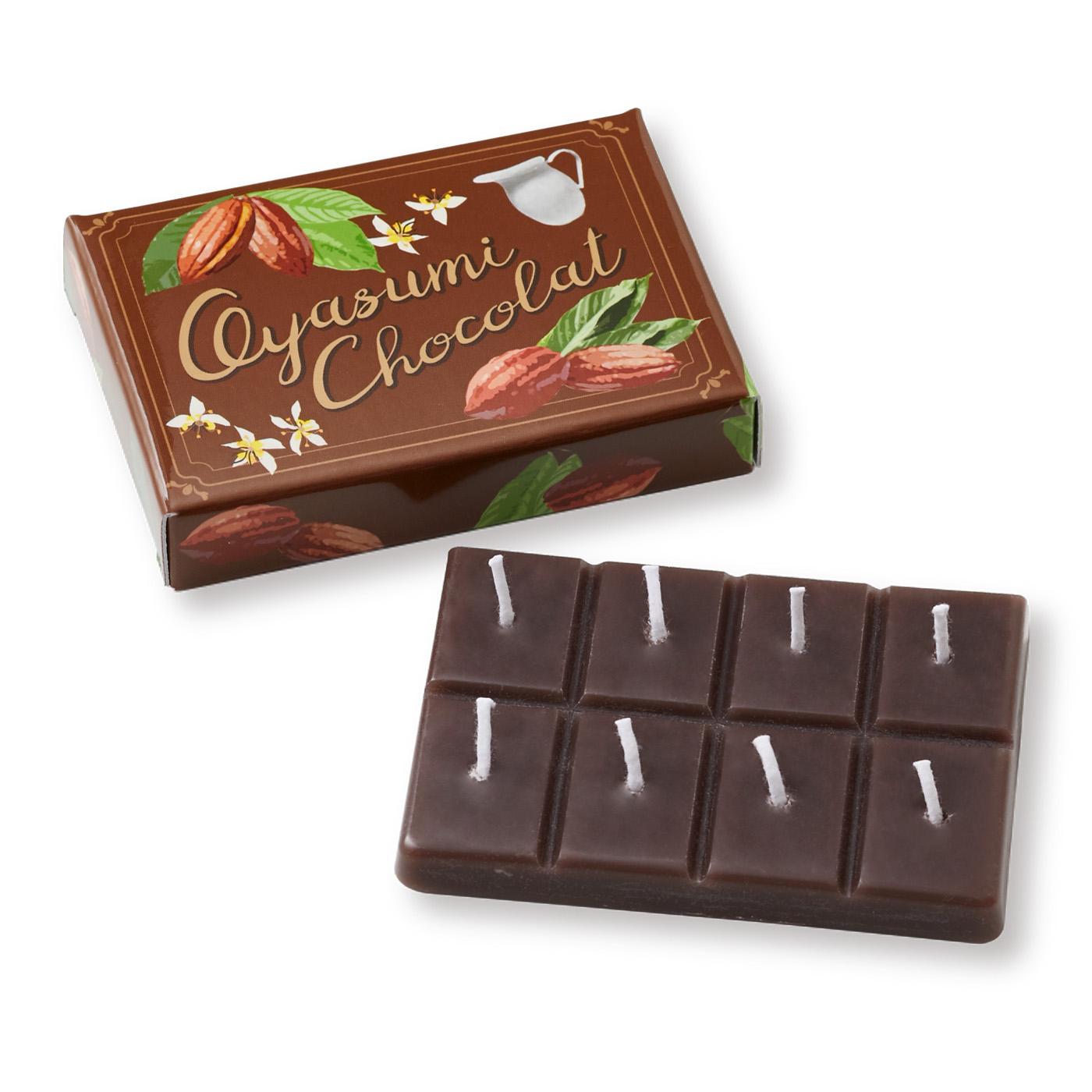 フェリシモ 板チョコキャンドルカカオ