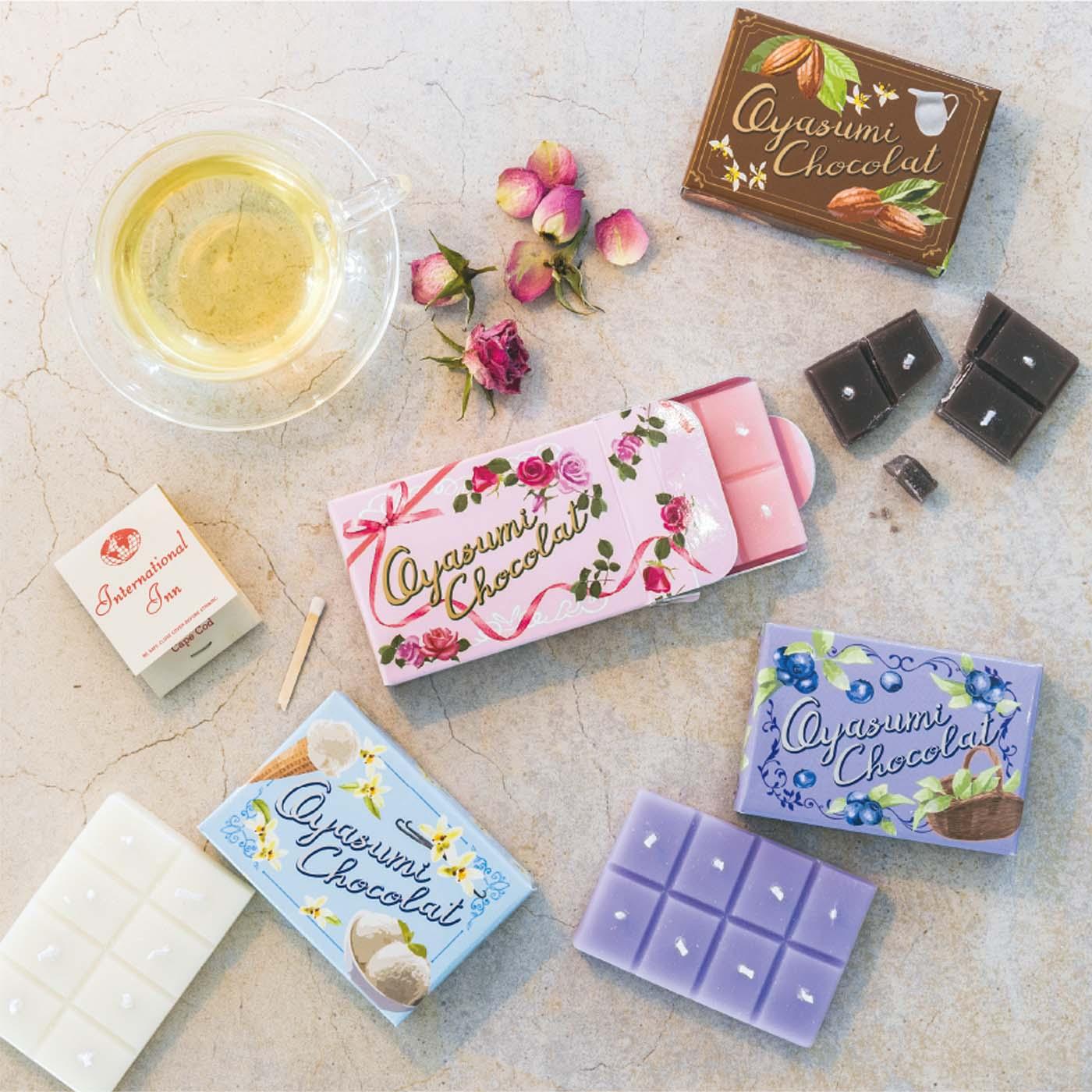 フェリシモの板チョコキャンドルの会