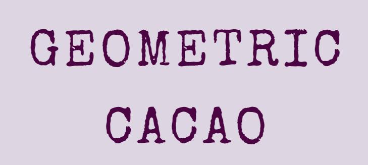 GEOMETRIC CACAOロゴ