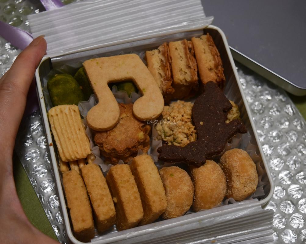 ジオメトリックカカオのクッキー