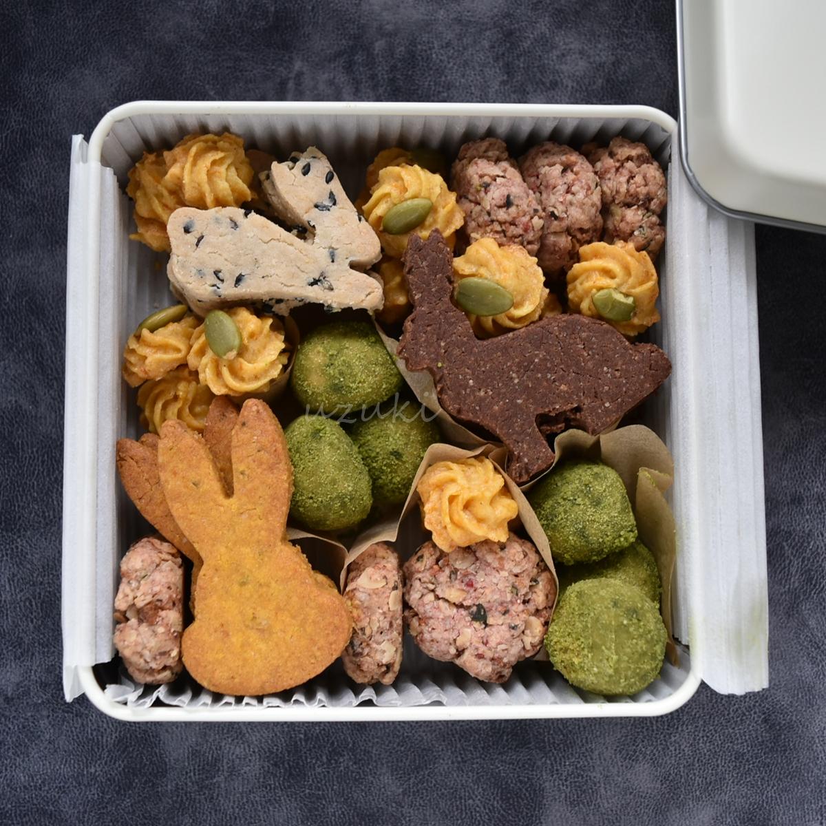 「うさこちゃんクッキーアソート」の中身