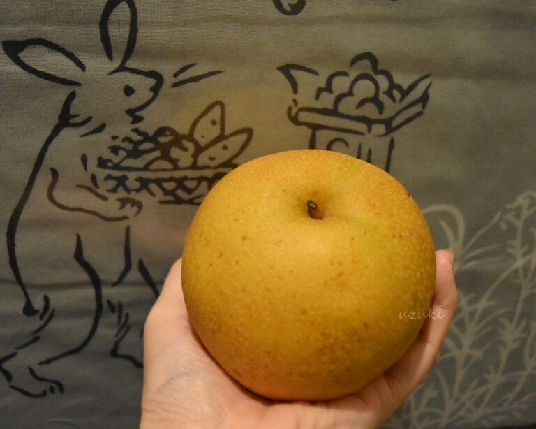 うさぎが食べて良い食品「果物の豊水梨」